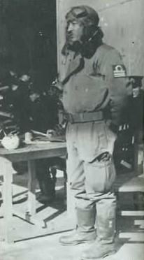 Capt. Mitsuo Fuchida in air flight uniform.