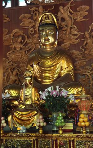 Buddha idol in China