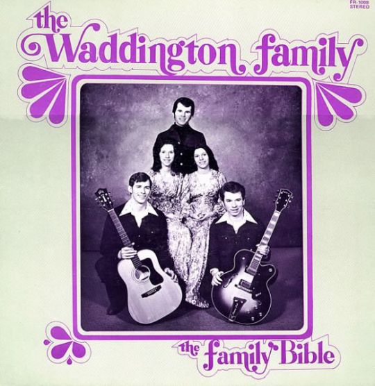 The Family Bible: The Waddington Family Frontcover